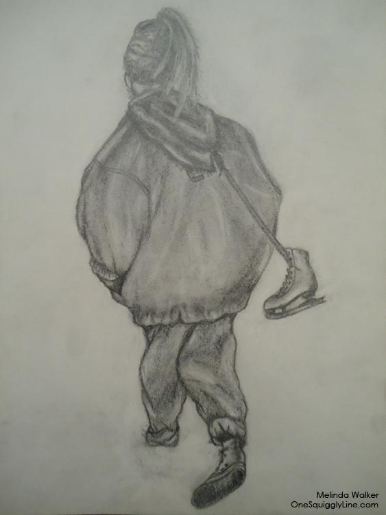 Pencil_Drawing_SKetchbook_MelindaWalker_OneSquigglyLine