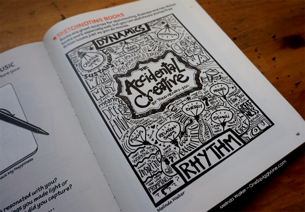 THe SketchnoteWorkbook_TheAccidentalCreative_MelindaWalker_OneSquigglyLine