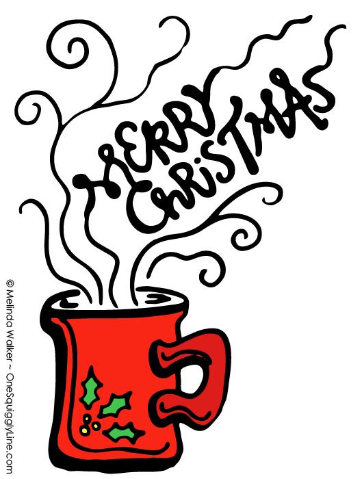 VisualThinking_Creative_Letter_Design_Christmas_Mug_MelindaWalker_OneSquigglyLine
