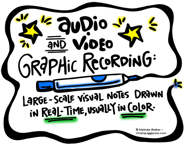 VisualThinking_GraphicRecording_AudioVideo_Definition_MelindaWalker_OneSquigglyLine