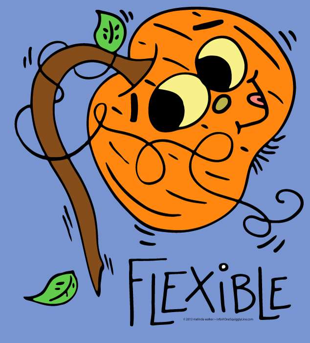 31 Spunky Pumpkins: Flexible