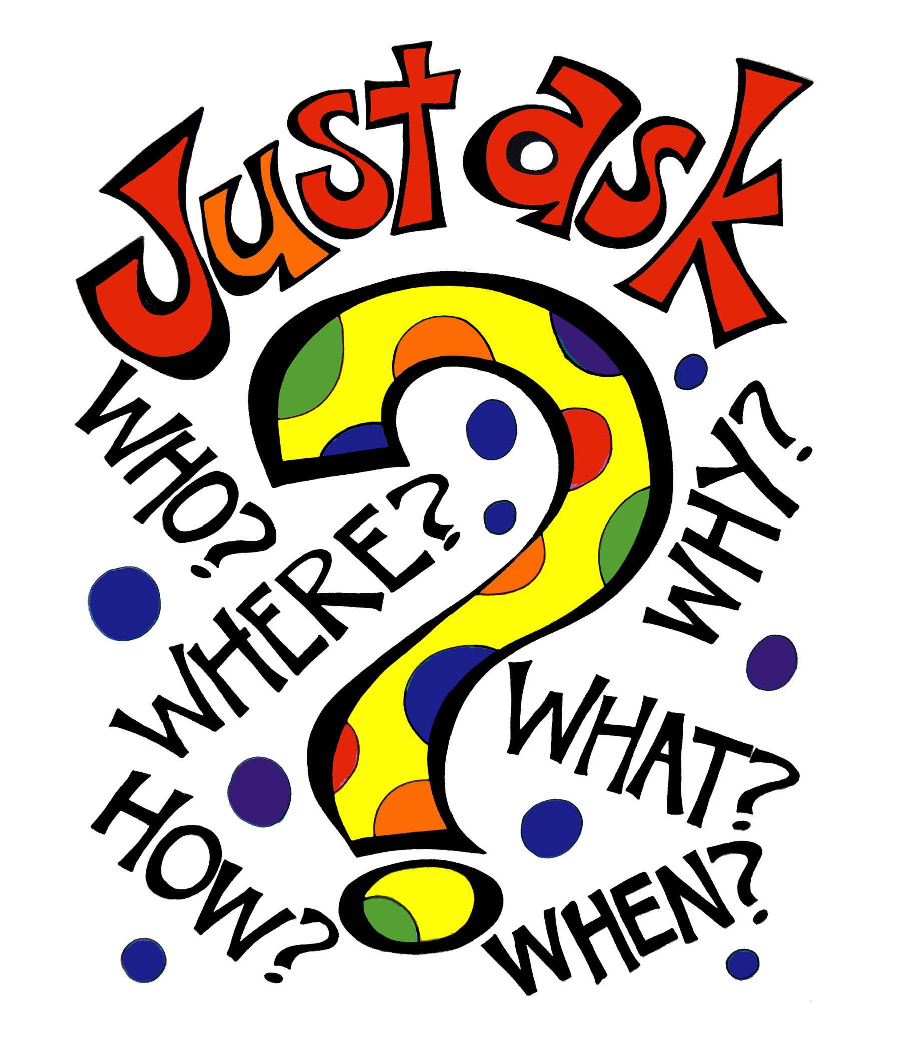 Just Ask! Poster for Classroom Discussion
