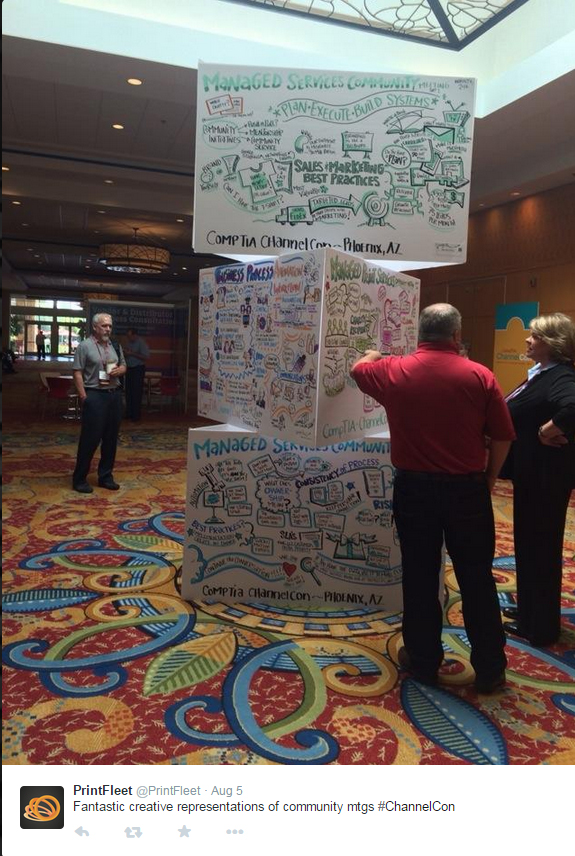 """Conference in Phoenix - with Image Think (40""""x60"""" Foam Core Boards)"""
