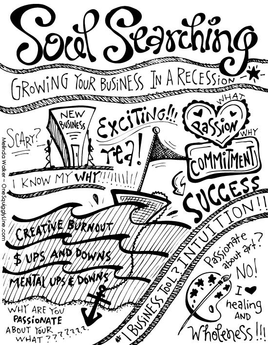 Sketchnotes_HelloSoul_SoulSearching_MelindaWalker_OneSquigglyLine