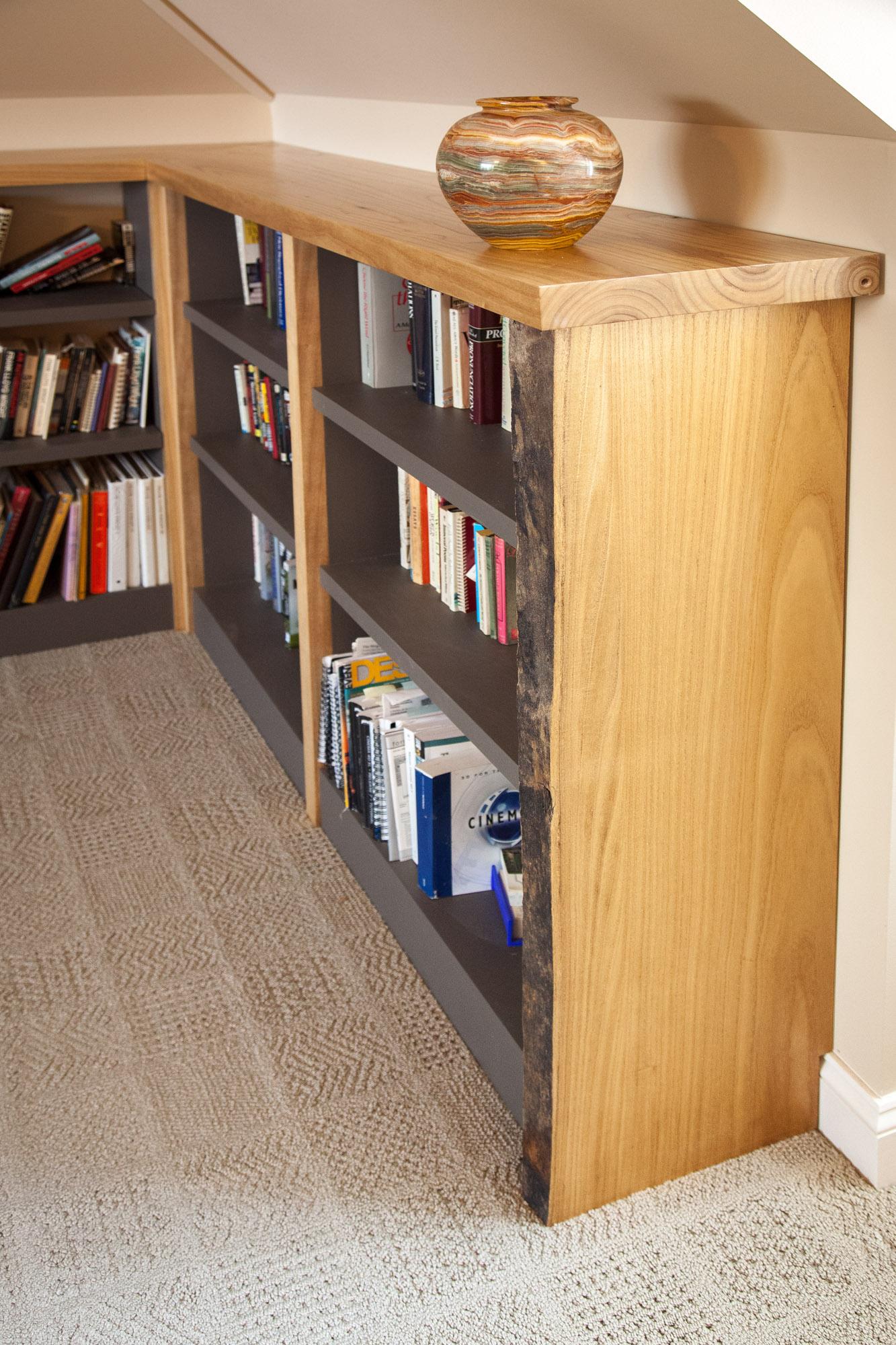 Custom paulownia bookcase by valebruck.com