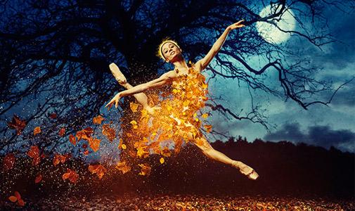 Maria Kochetkova in Christopher Wheeldon's  Cinderella .©Erik Tomasson