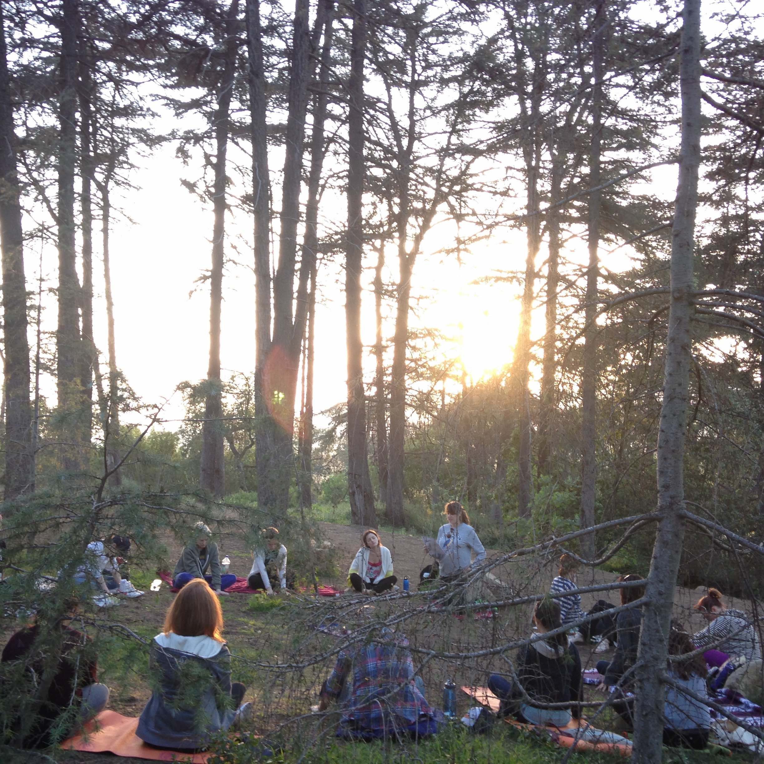 SUNSET MEDITATION IN NATURE FOR THE EQUINOX.  CLICK  HERE  TO GET YOUR SPOT.