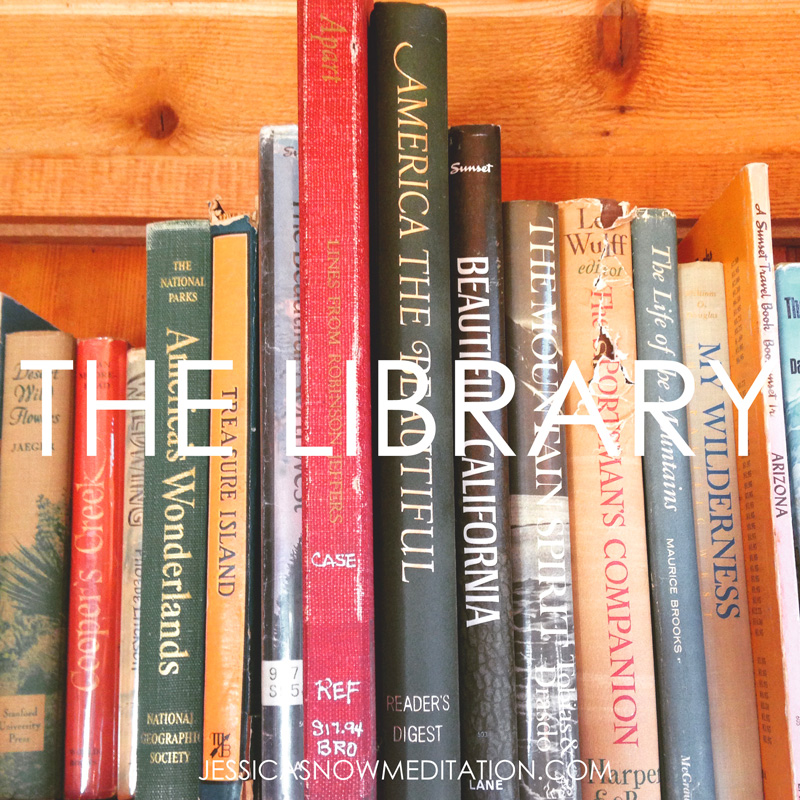 Peruse a book from  The Library of Your Subconscious .