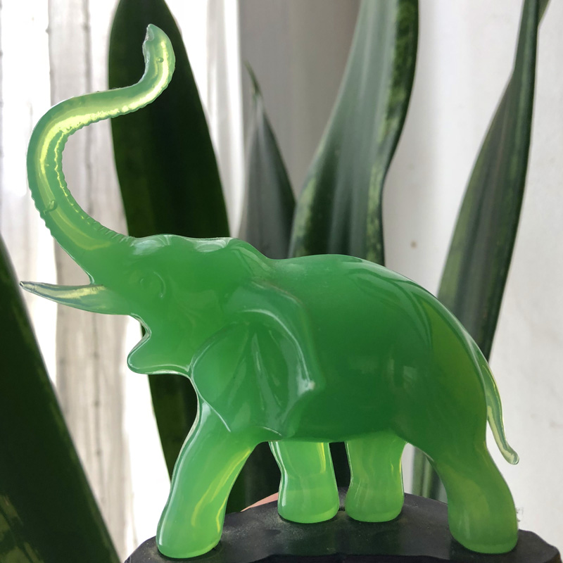 The elephant in my living room to remind me.