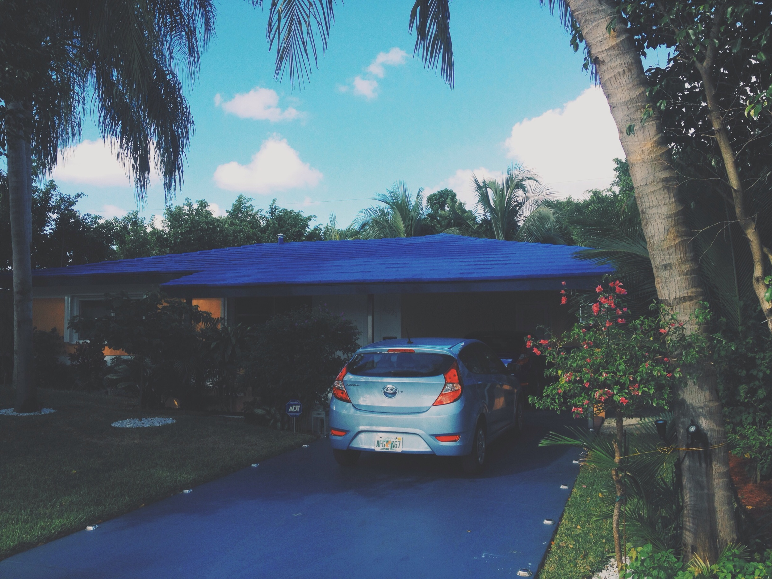 """Living at """"Carlos"""", my first AirBnb stay. Very relaxed guy and a surprisingly clean and sweet house, though it's far from downtown. Very reasonably priced. And explicitly 'hurricane proof'..."""