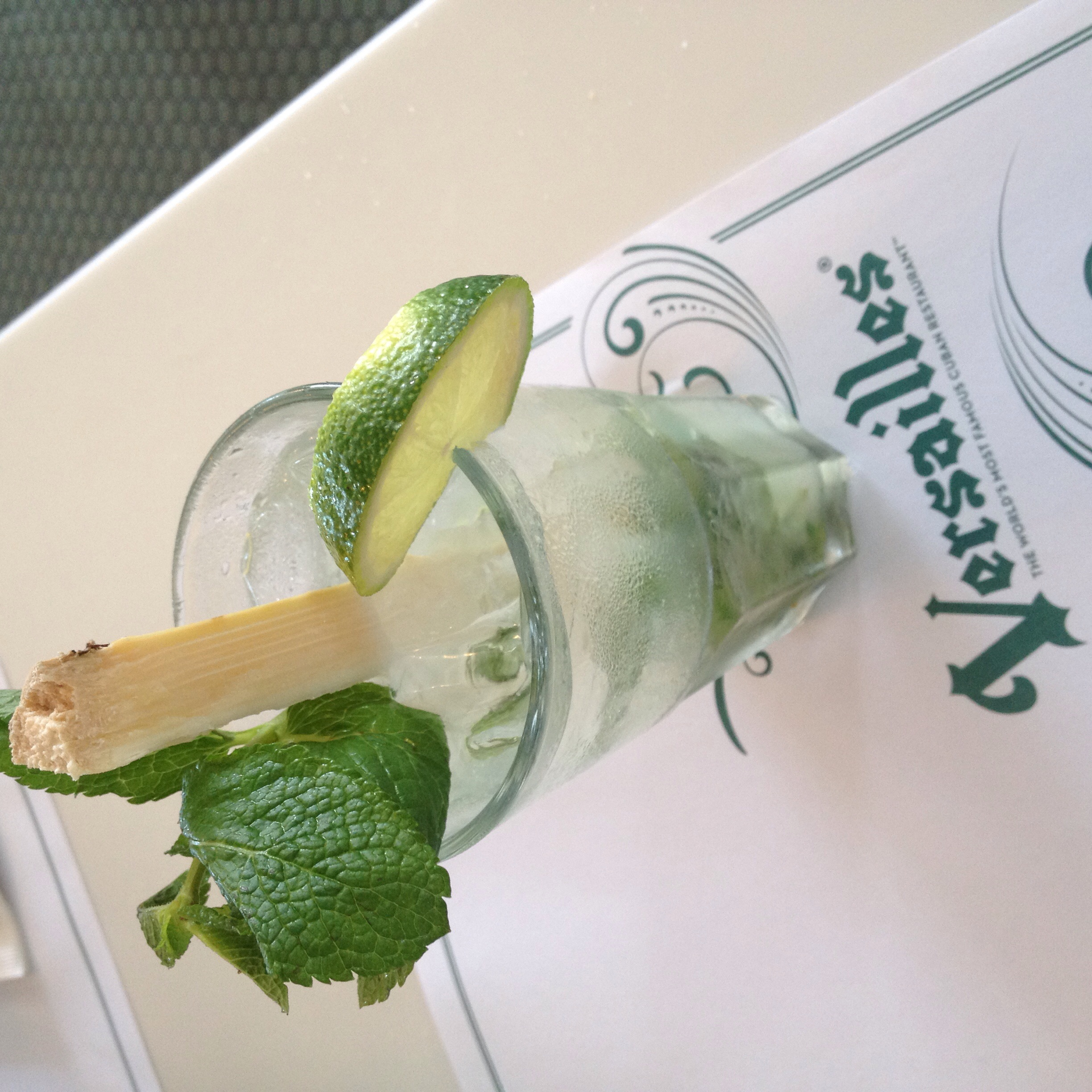 Mojito. What else?