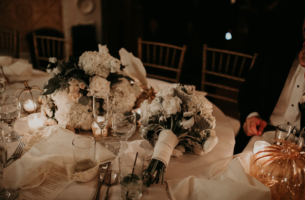 Beautiful low light details from a gorgeous fall wedding at the Hay House in Macon, Ga.