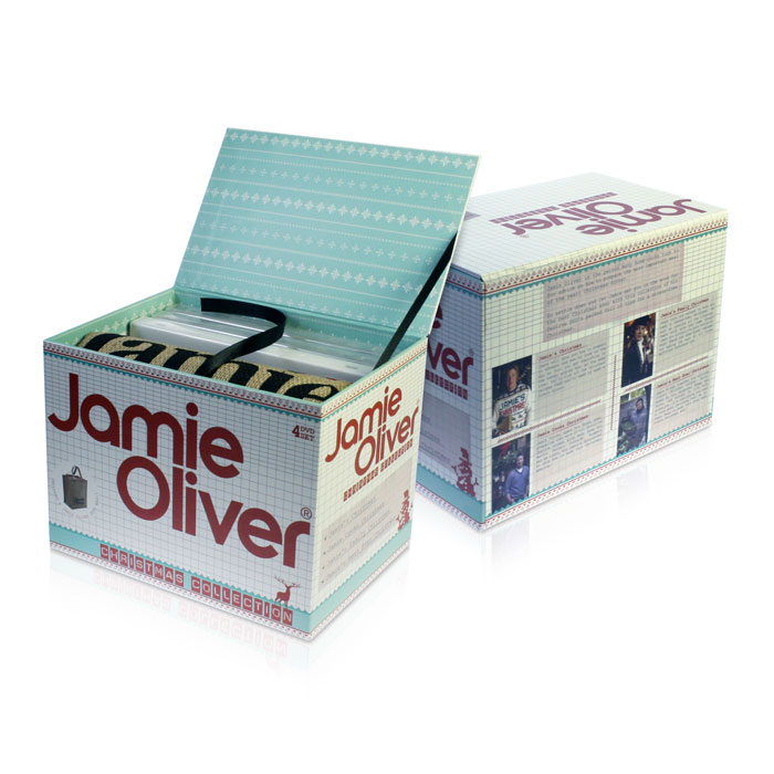 Jamie Oliver DVD retail set