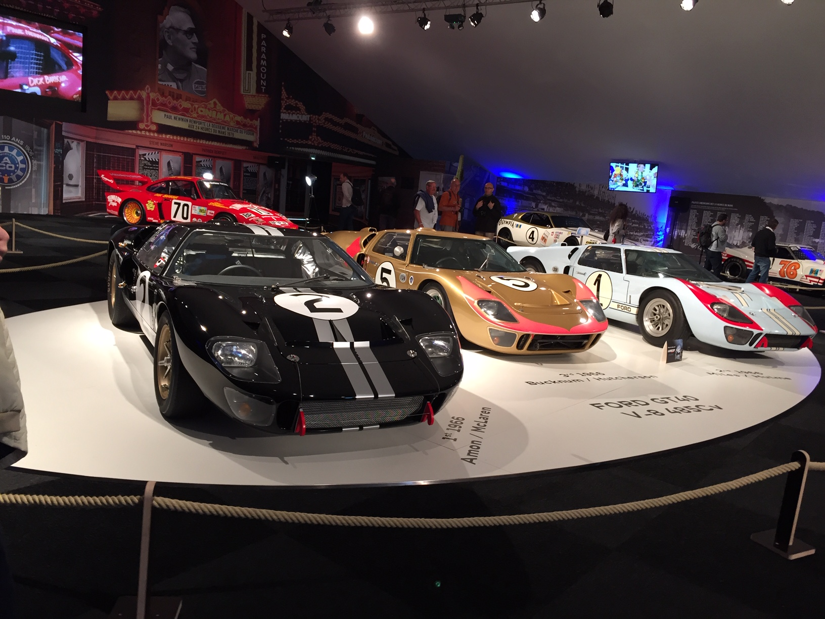 Exhibit - Americans at Le Mans