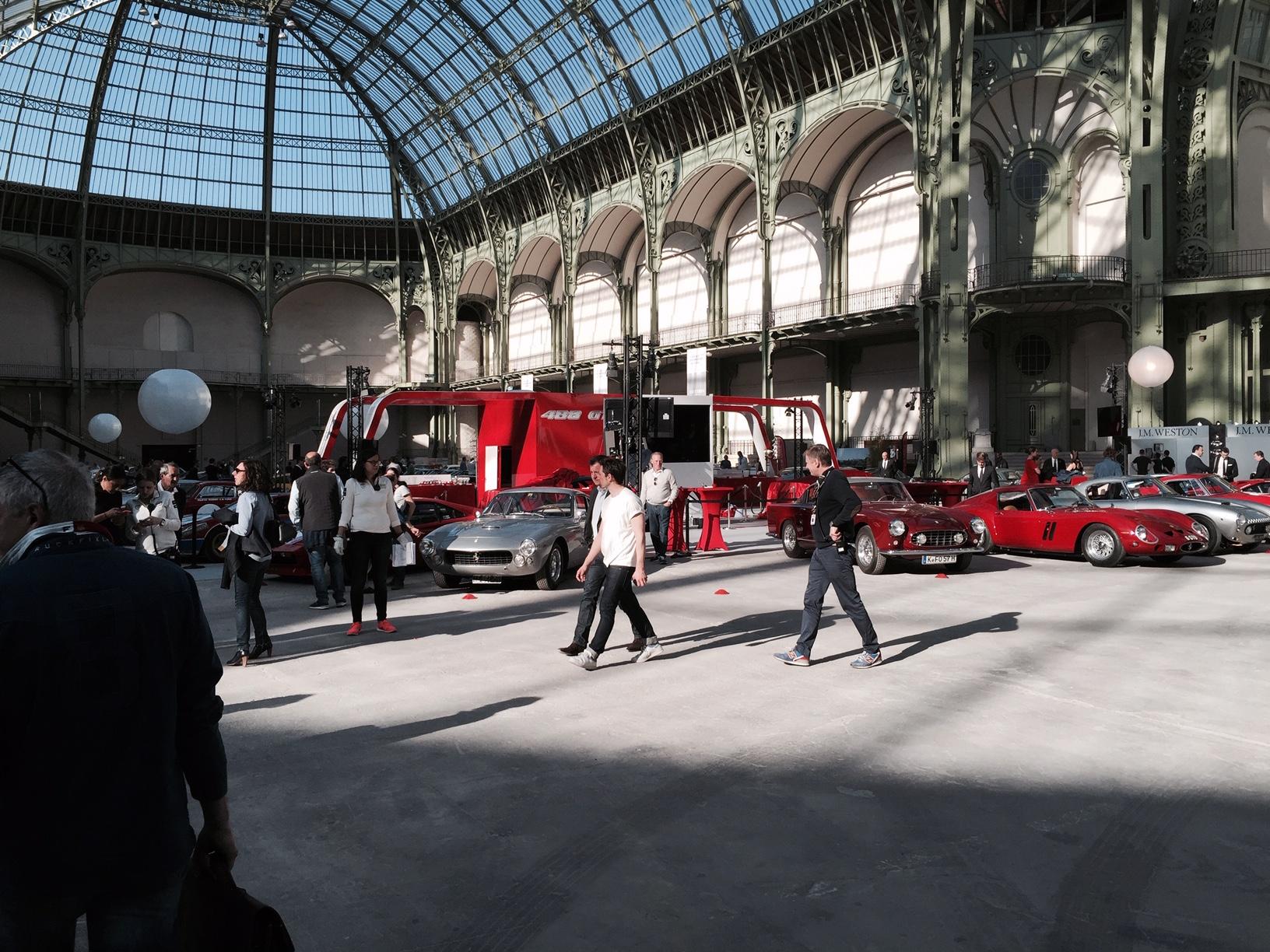 An awesome car park, the Grand Palais Paris