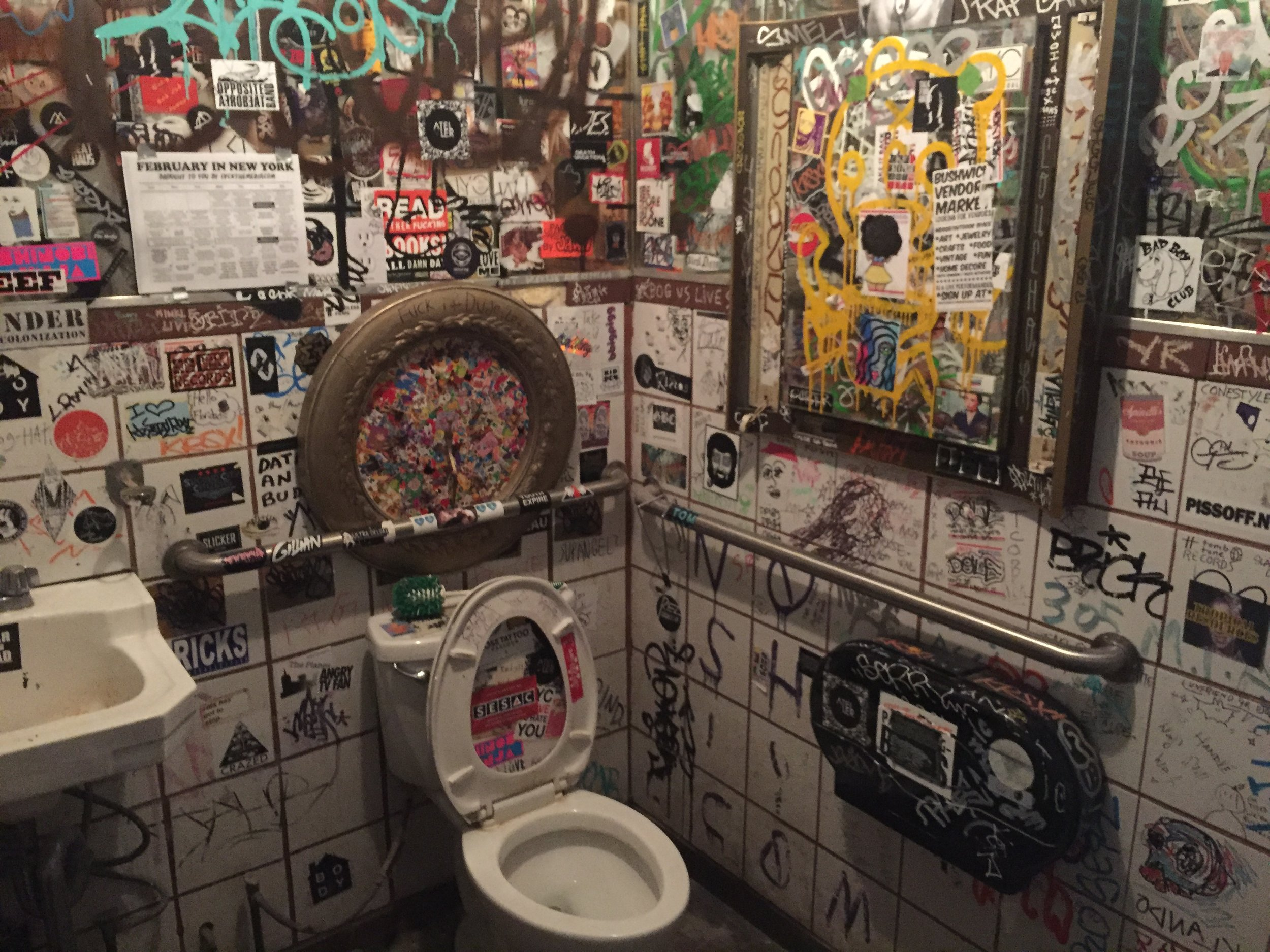 Love this restroom.