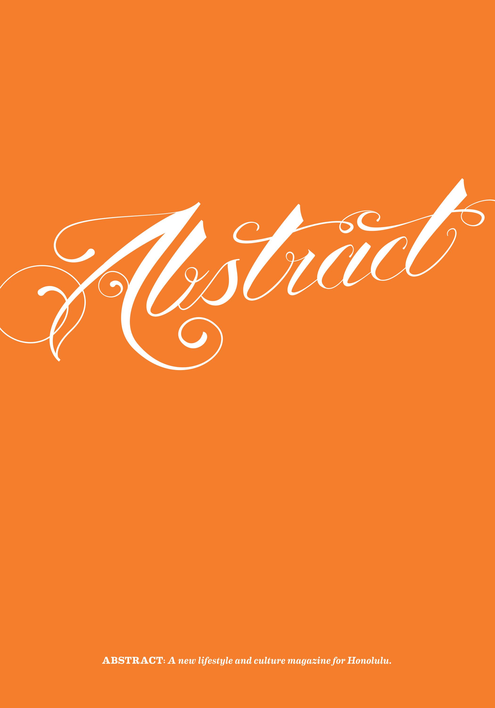 "Abstract Issue 2: ""Hardcore Honolulu"""