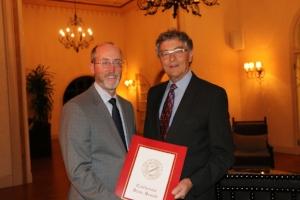 Senator Glazer & Brian Waters -