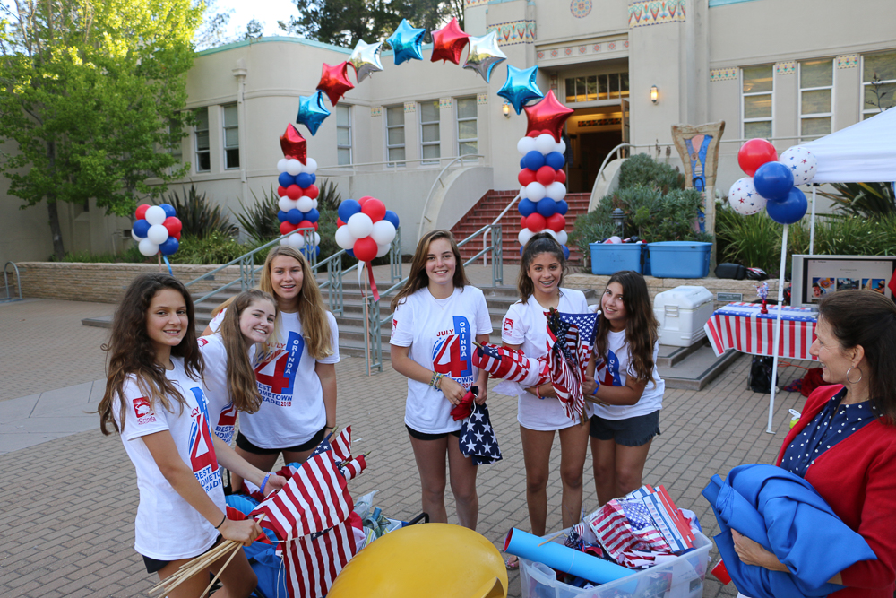 Fourth of July Volunteers