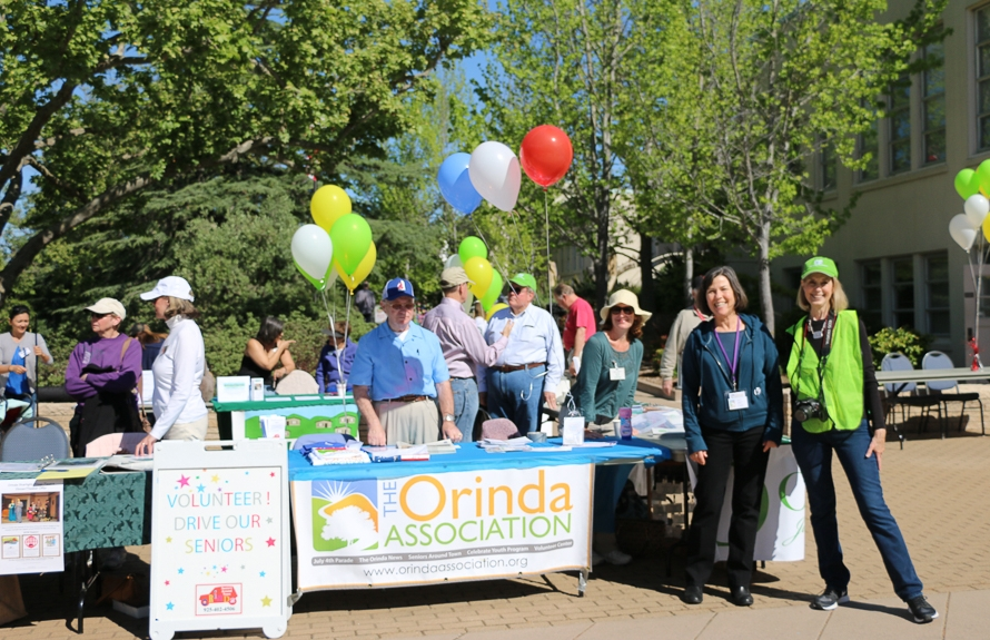 Volunteer Fair Co-Sponsored by Orinda Association