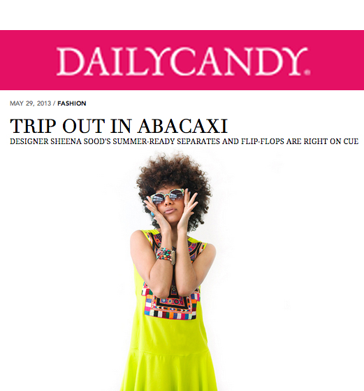 Daily Candy, May 2013