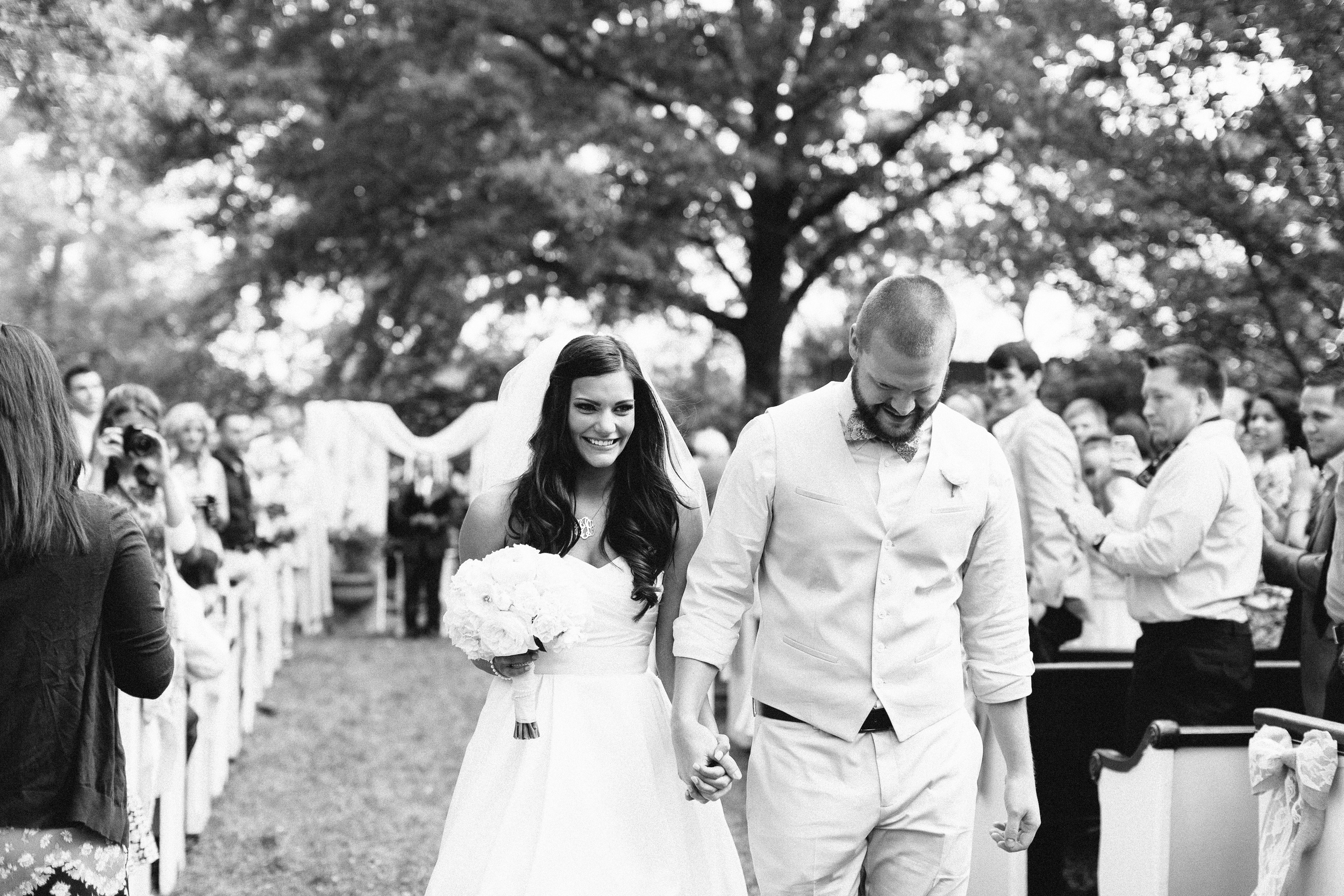 PEWS Wedding at Madison Oaks Inn - Photo by Haley Sheffield Photography