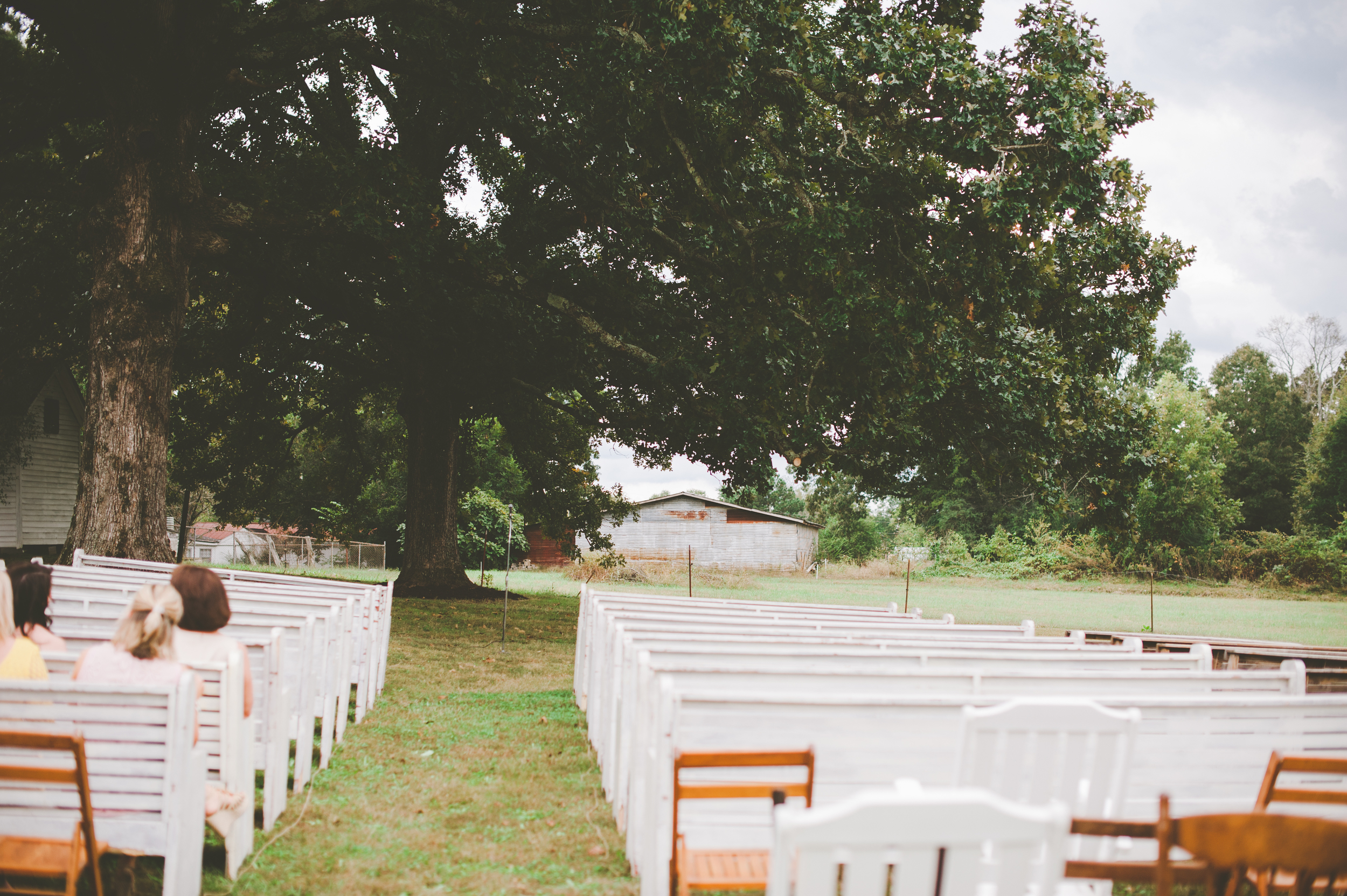 Pews at a Tennessee Wedding photo from http://www.zipporahphotography.com/