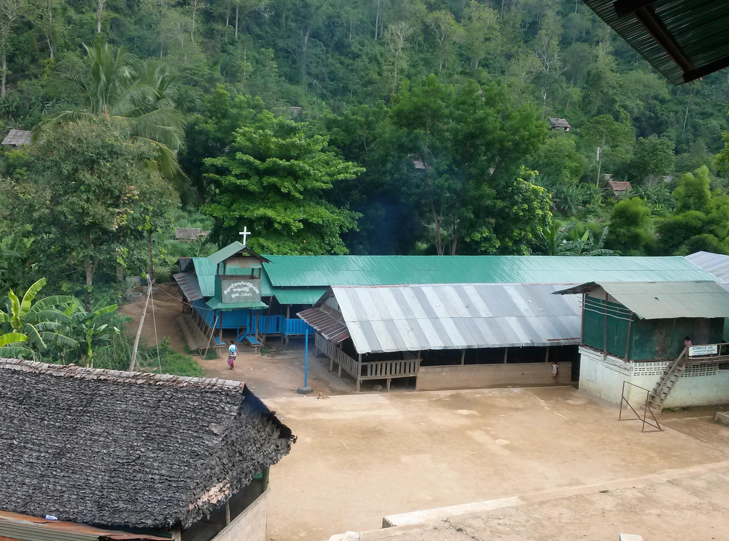 Main camp ground