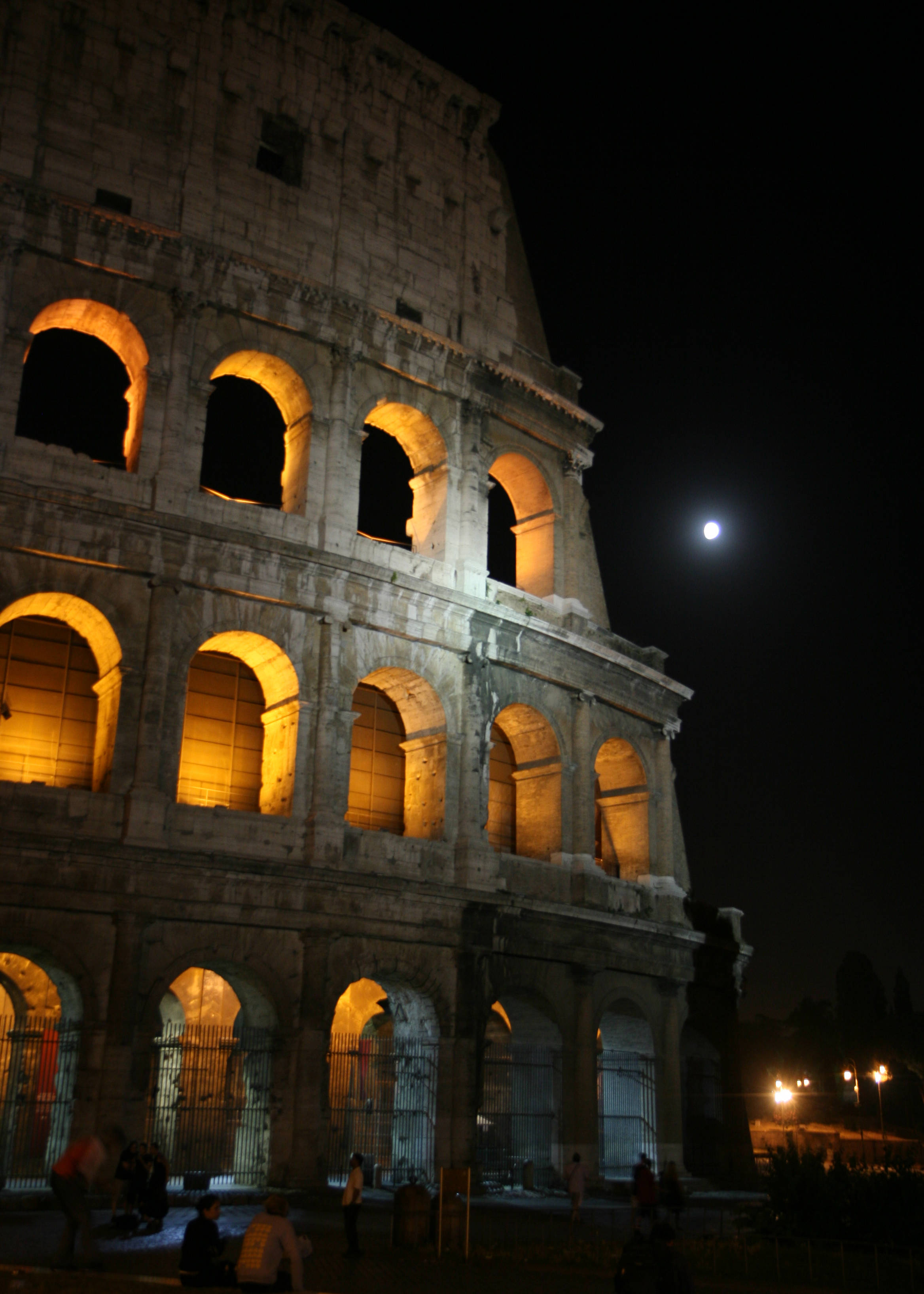 """Colosseo"" -  - IPFW International Photography Exhibition - Most Visually Striking or Unusual 3rd Place 2008  Medium - Digital Print"