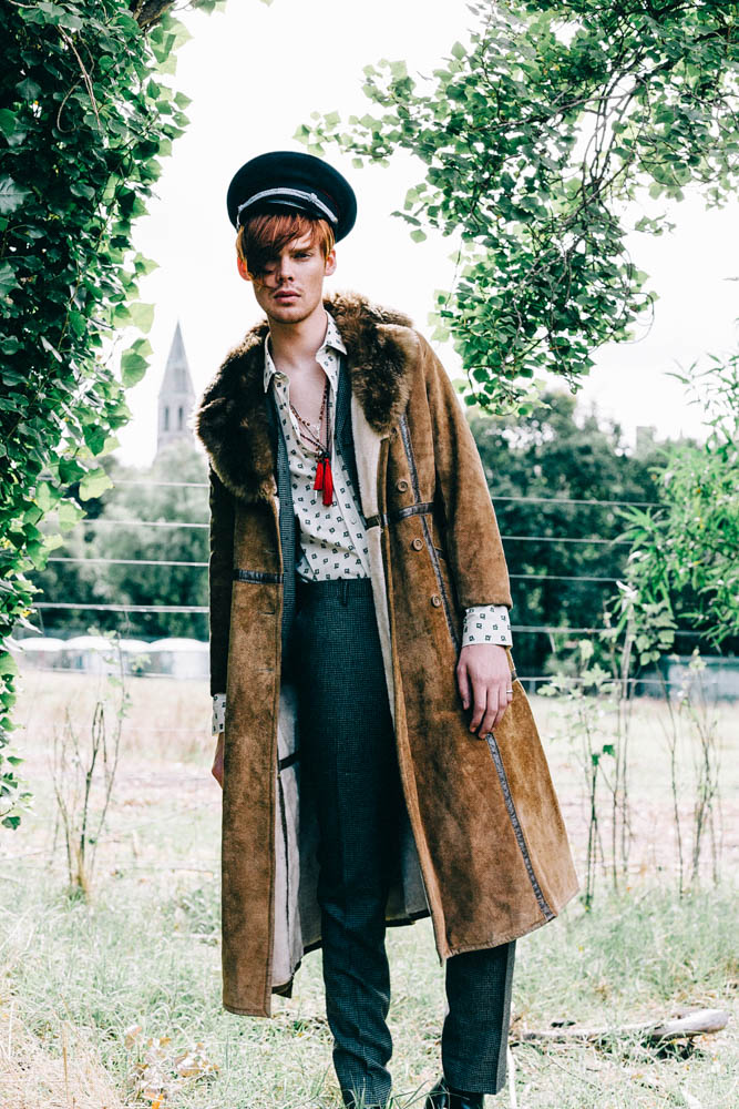 The Wanderer for Fashion Journal shot by Thor Elias