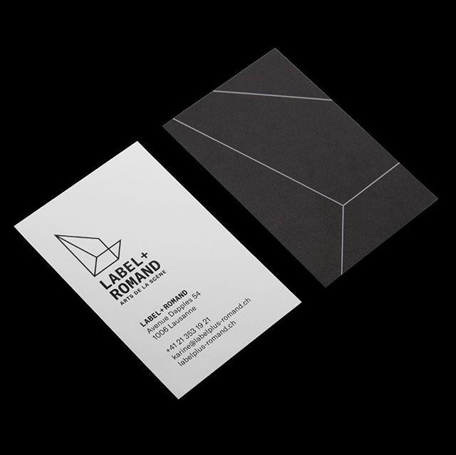 Visual identity for Label+ romand | Arts de la scène. The association promotes and supports Swiss theatre arts.  Project management: Transistor Communication Font: GT America, Grilli Type #graphicdesign #swissgraphicdesign #grillitype