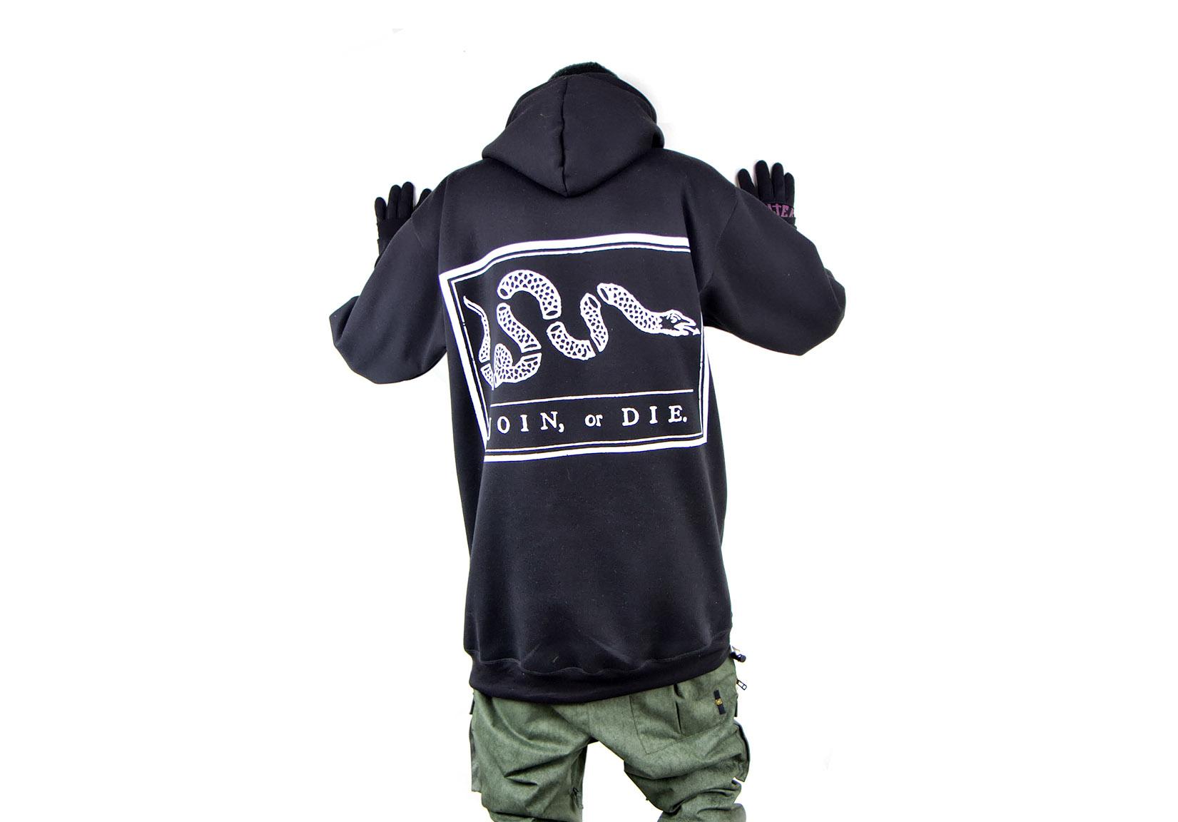 2013-07-04 Hoody Prints All-in-one - Black Join or Die.jpg