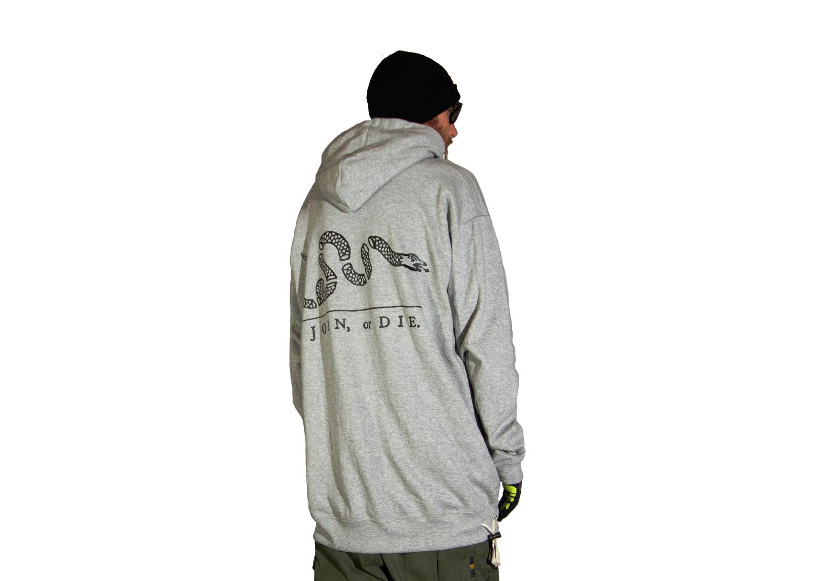 2013-07-04 Hoody Prints All-in-one - Grey Join or Die.jpg