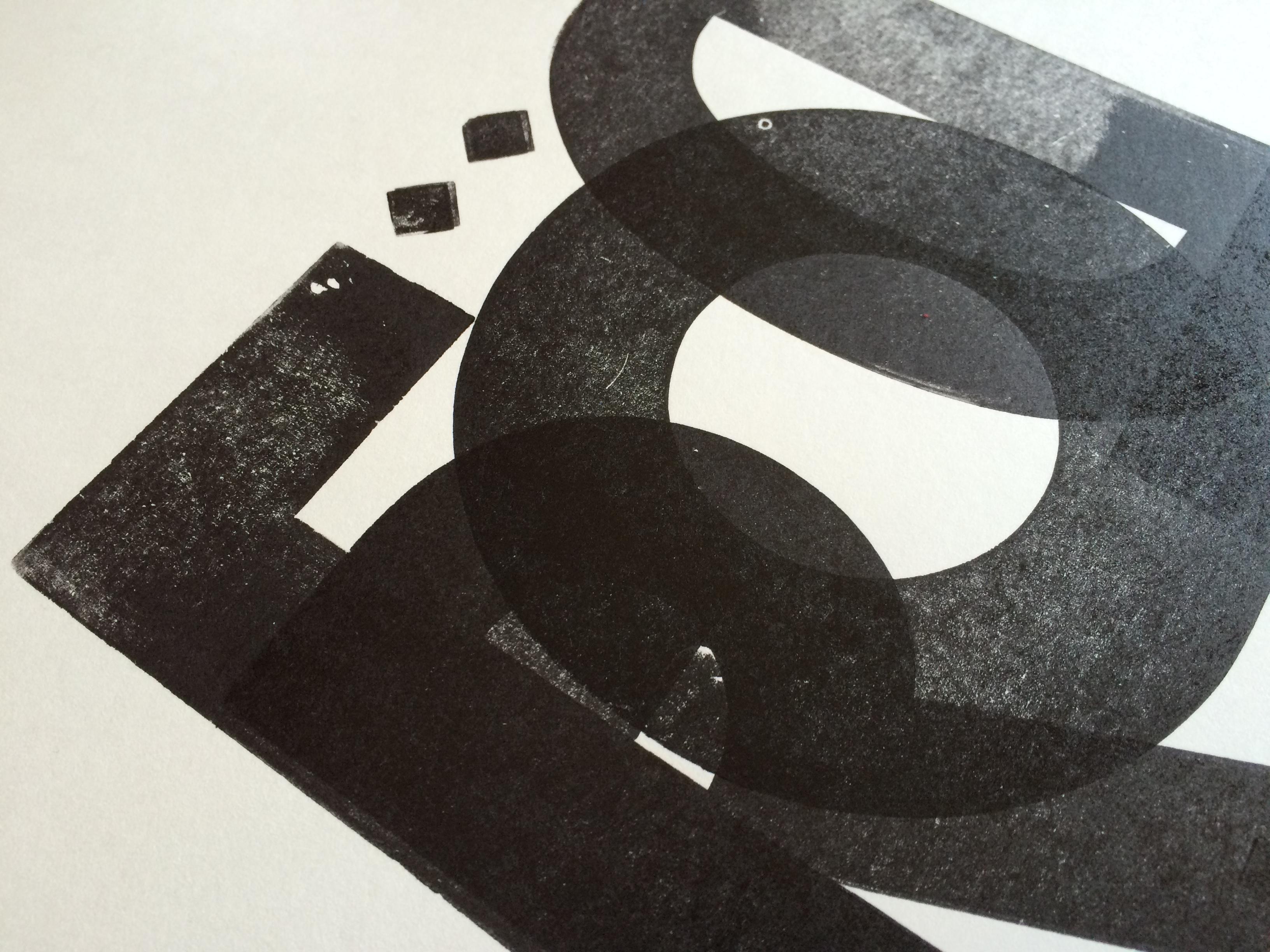 (sneak peak of   letterpress  printed page for the LpW book)