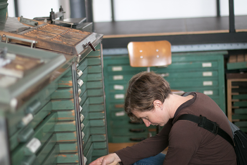 Rebecca Gilbert  from Stumptown Printers