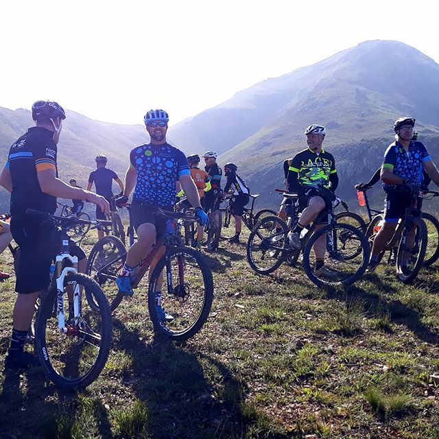 On top of 1st Bench with the Hermanus Crew!