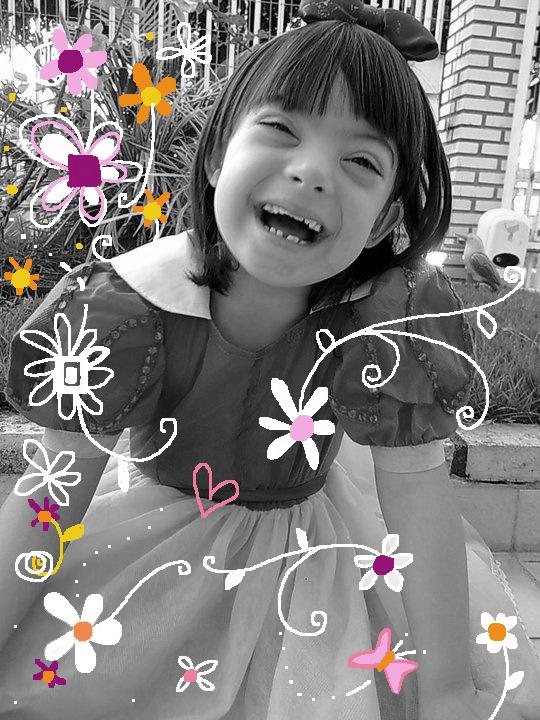 Esta princesa é a Lorena