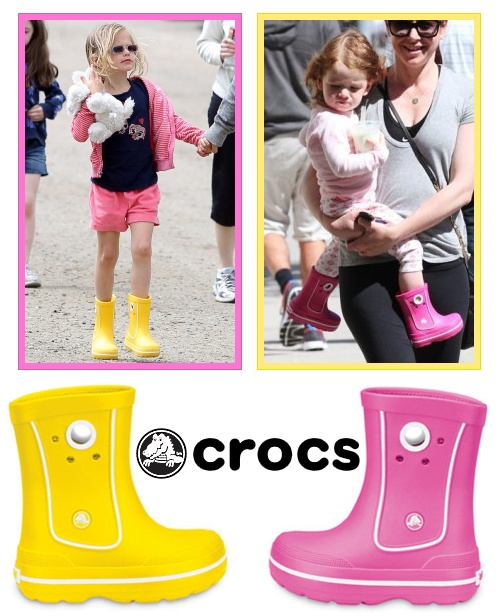Botinha da Crocs: nossa primeira foi rosa, depois nasceu o irmãozinho ai estamos puxando mais para o amarelo, vermelho, azul....