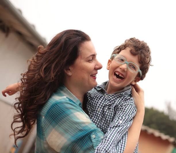 """""""Quando Pedro tinha dois anos eu fiz um trato com ele: ele iria viver bem, acordar e dormir sorrindo"""" (Foto: arquivo pessoal)"""