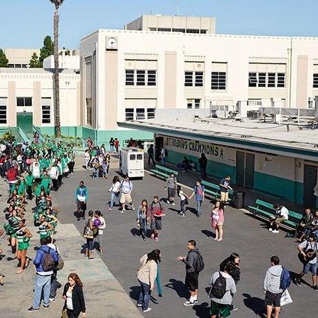 Inglewood, California — Inglewood High School (James Mollison)