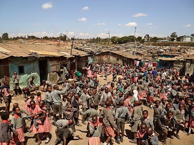 Valley View School, Mathare, Nairobi, Kenya (James Mollison)