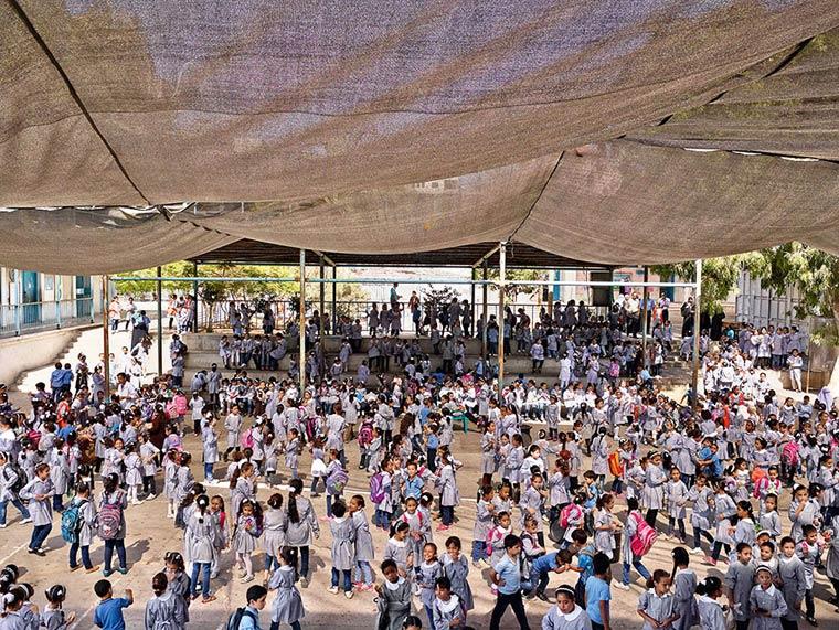 Maamounia Elementary Rhimal Area, Gaza City, Gaza (James Mollison)