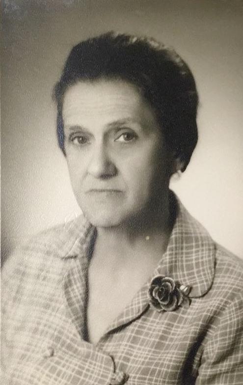 Minha bisavó Perina, em 1970. (Arquivo de Famīlia)