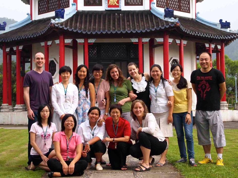 CWEF team meeting in Hong Kong