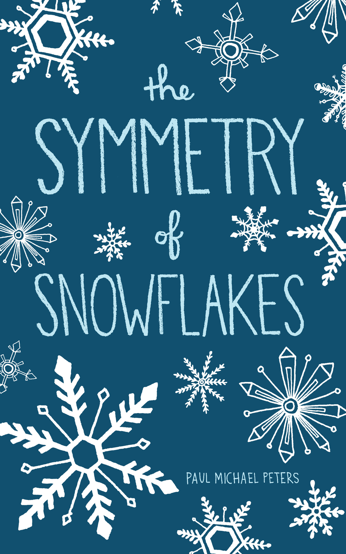 The Symmetry of Snowflakes - It's the day before Thanksgiving and twenty-nine-year-old business owner Hank Hanson is about to tackle the annual challenge of visiting every one of his relatives. The product of a blended family, Hank has parents, stepparents, and former stepparents—not to mention an assortment of siblings—and feels the responsibility to see them all.To give structure to his unconventional network, Hank compares it to a snowflake's intricate design. The only missing piece in his life, the element that would form that rare, perfect snowflake, is the love of an amazing woman.When Hank meets Erin at the Thanksgiving Day parade, it seems like she might just be that woman—until pressures start to mount with his family and business, and secrets about Erin's past spill out.