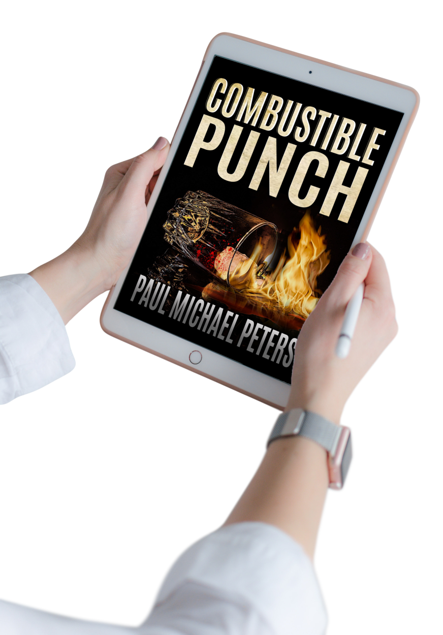 Paul Michael Peters hit thriller Combustible Punch