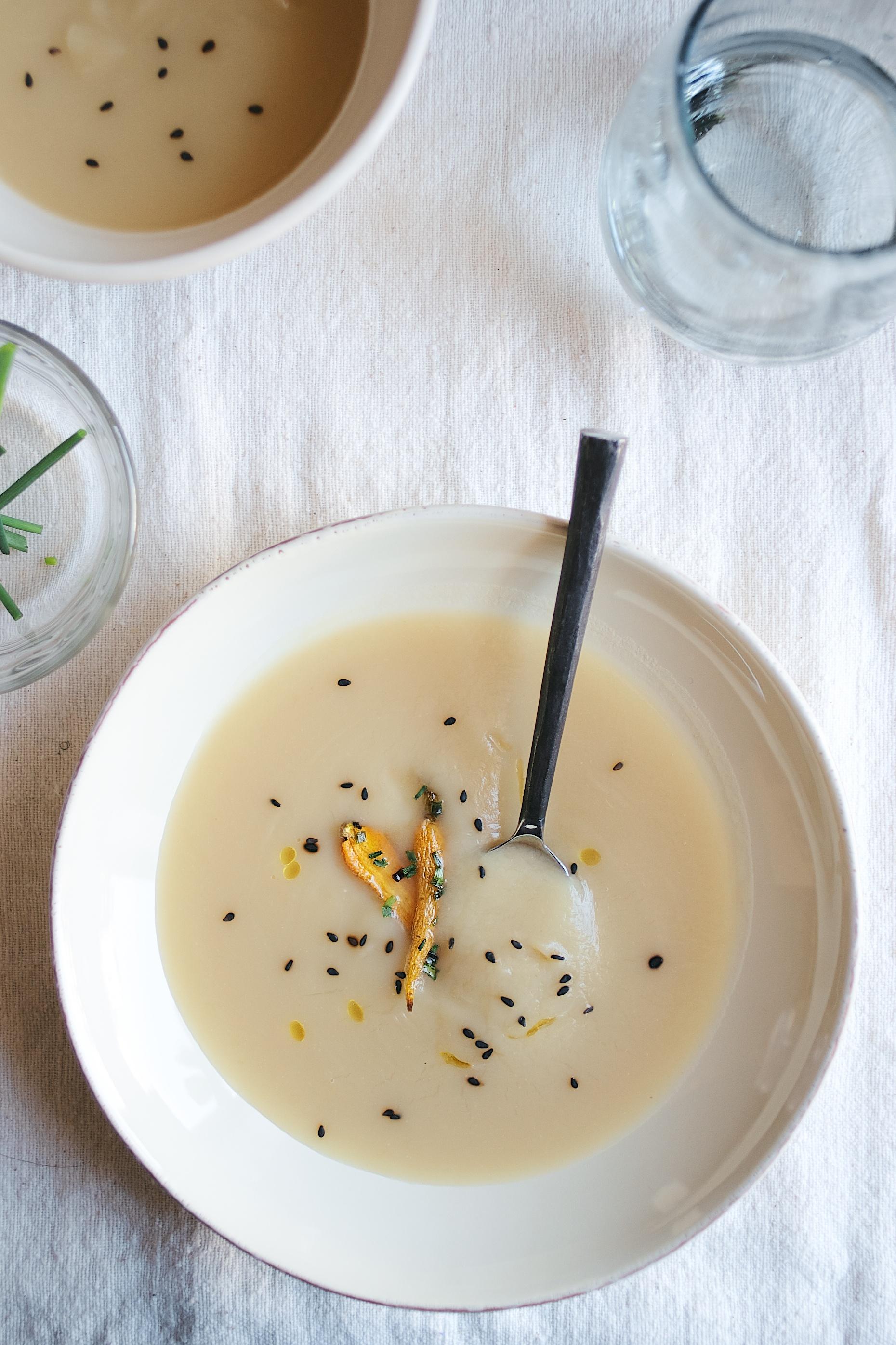 miso-yam soup