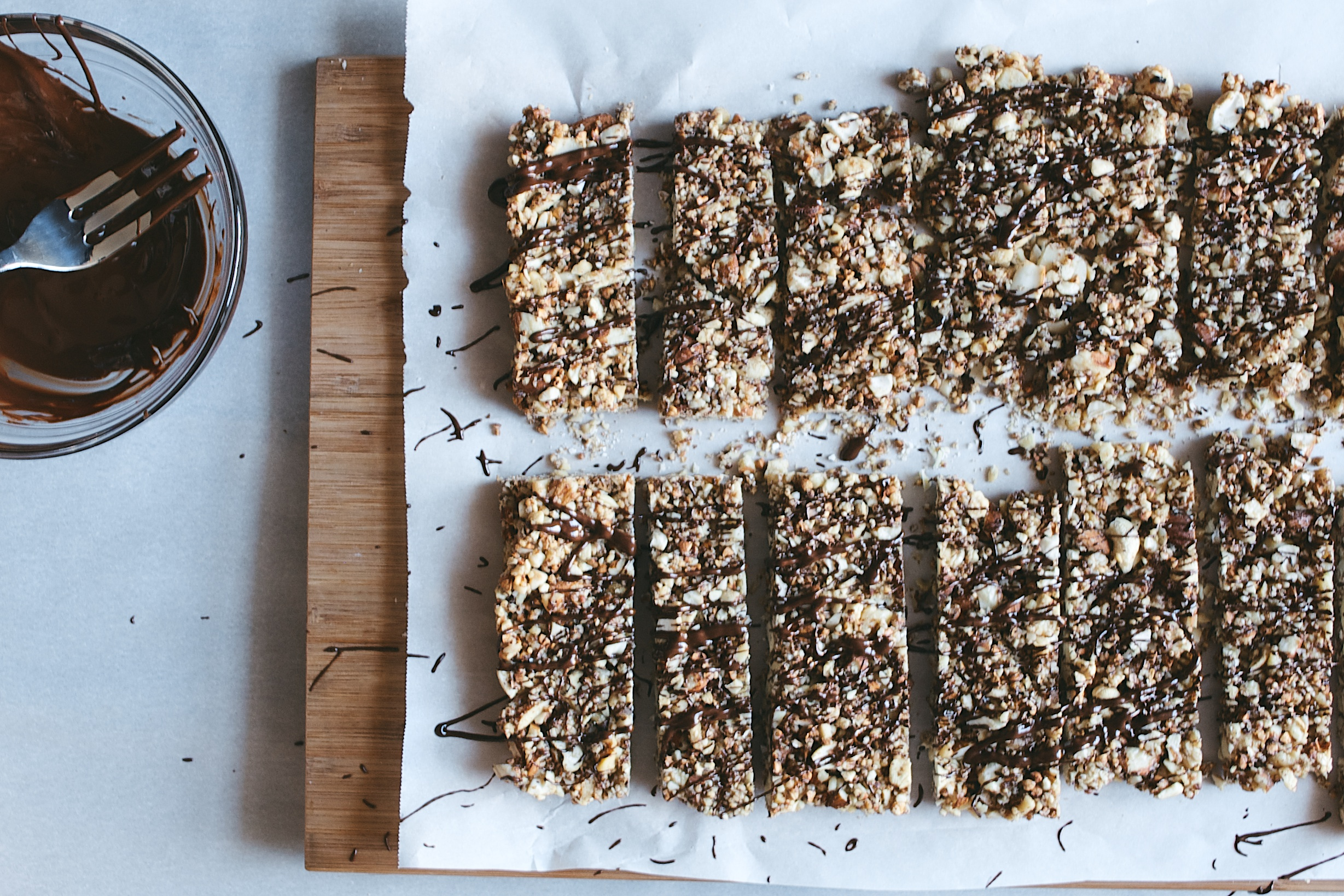 choc. nut bars