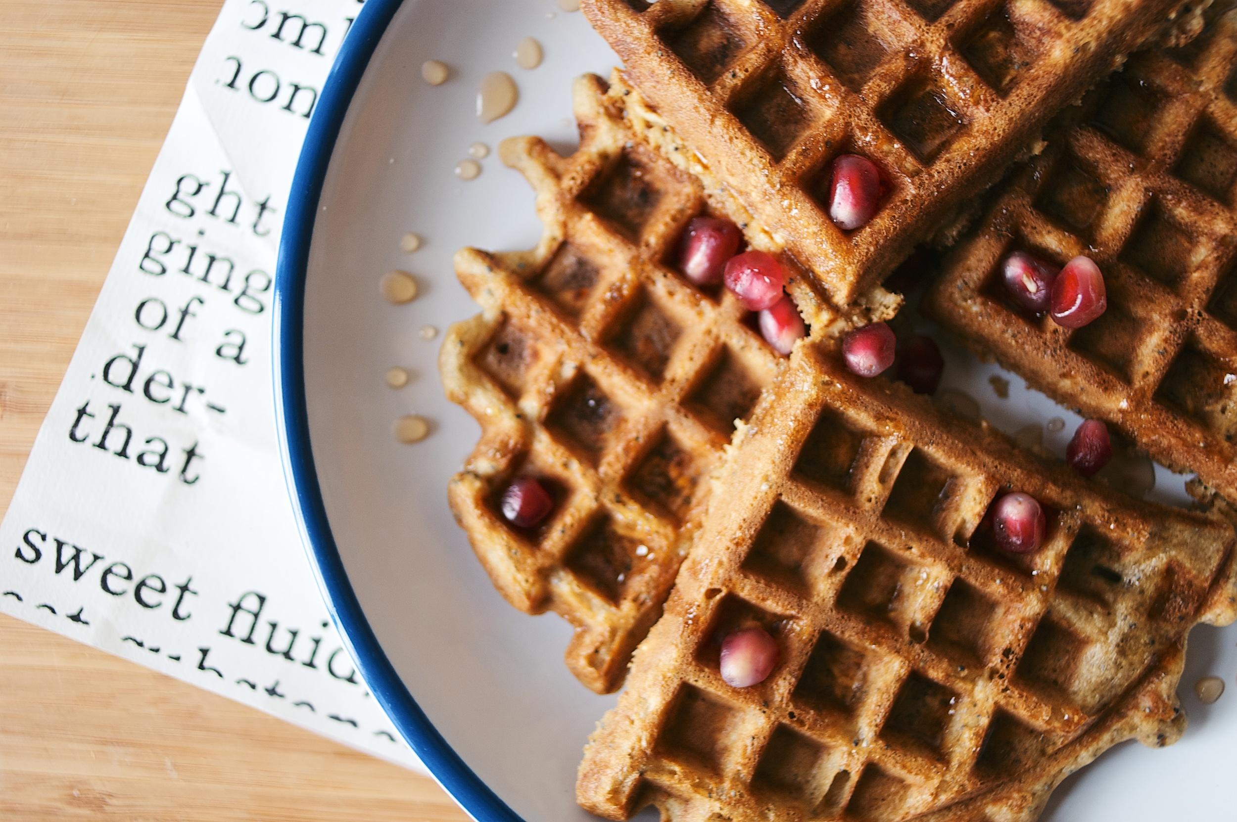oat waffles