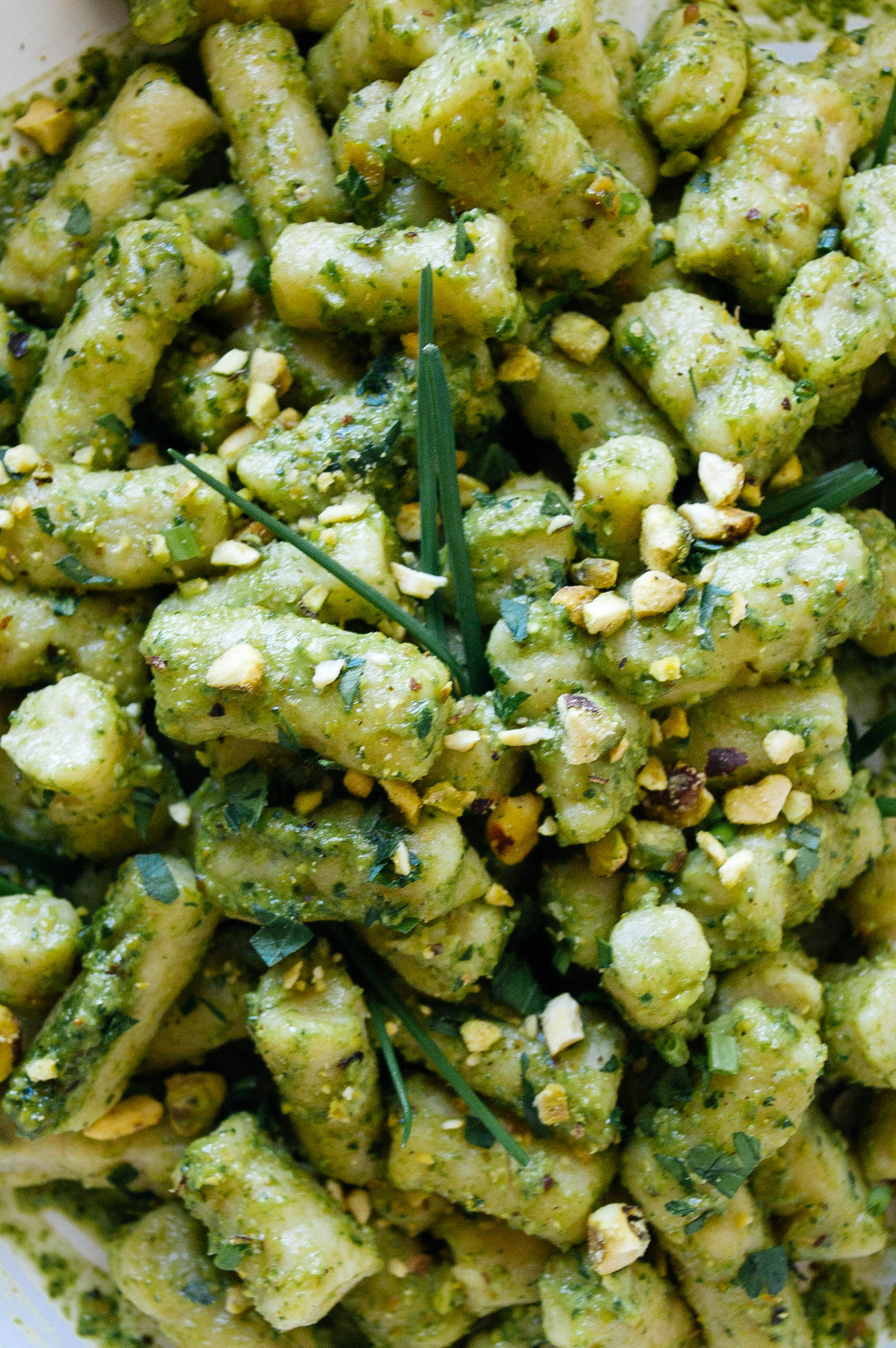 Toasted fennel-seed gnocchi